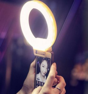 Кольцевая лампа для телефона для Селфи кольца