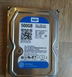 HDD 500 гб