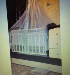 Кровать трансформер до 12 лет
