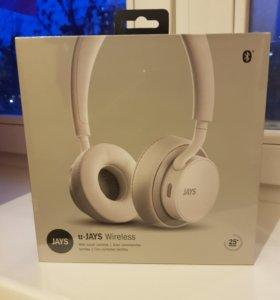 Наушники Bluetooth Jays U-Jays Wireless White