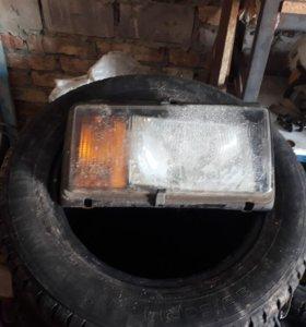 Фары и заднее стекло на ВАЗ 2105