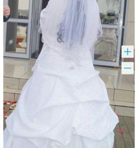 Свадебное платье..