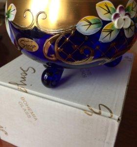 Вазочка Богемия в коробке