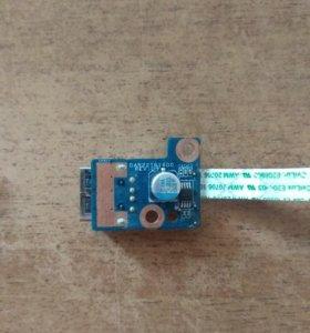 USB плата HP G6-1000 серии