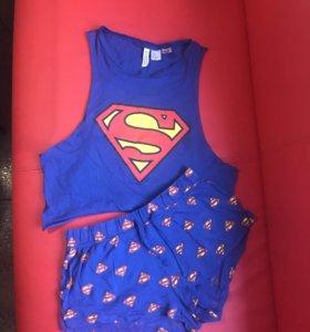 Комплект пижама super man