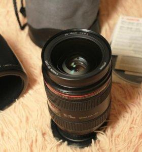 Продам объектив CANON 24-70mm f/2.8L USM