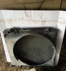 Радиатор делика 2001 год