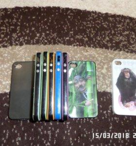 Чехлы и бампера на Iphone 4