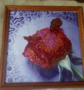 """Картина алмазная роза"""