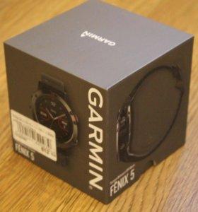 Умные спорт часы Garmin Fenix 5
