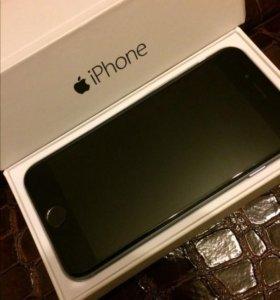 Айфон 6, 64 Гб, с Touch ID, Space grey