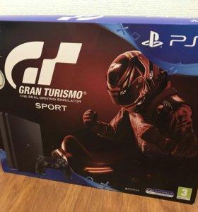 Sony PlayStation 4 Slim 1Tb Gran Turismo, новая.