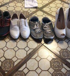 Обувь 35, 36 размера.