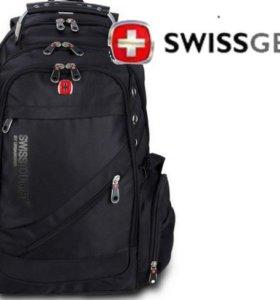 Рюкзак водонепроницаемый Swissgear+Аудиопорт