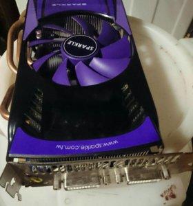 Видеокарта на компьютер nvidia GTX 465