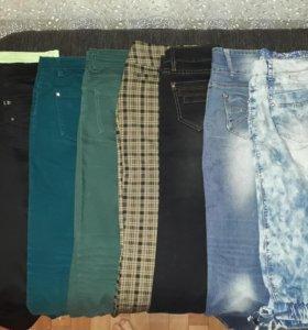 Джинсы, шорты, куртки, сарафан