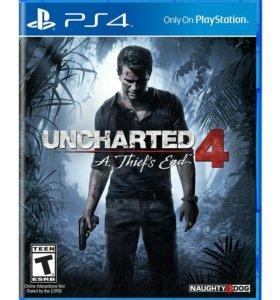 Uncharted 4 путь вора PS4