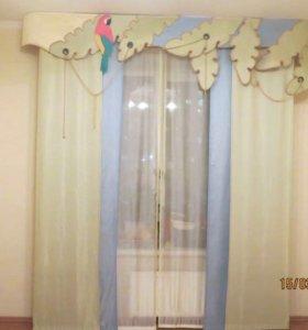Шторы «японские» в детскую комнату