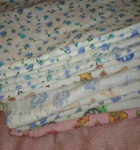 Пакетом пеленки- распашенки