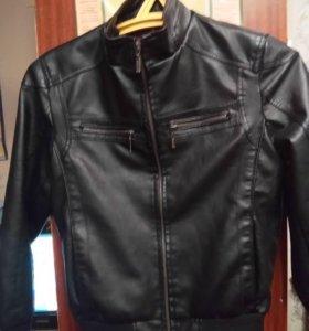 Куртка кожаная 44 размер