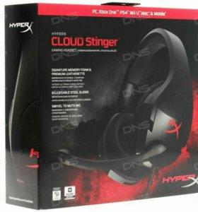 Игровые наушники Hyperx Cloud Stinger