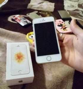 iPhone se (золотой)