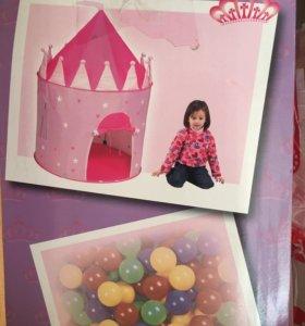 Детская палатка для девочки