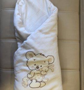 Конверт/одеяло на выписку и на прогулку