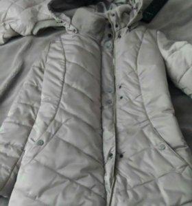 Пальто зимнее(пуховик)