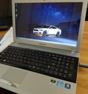 Samsung Rv520 для работы и игр i5 6Gb Nvidia 1Gb