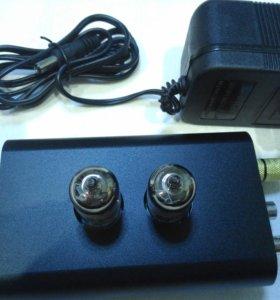 Фонокорректор ламповый MM на 6J1