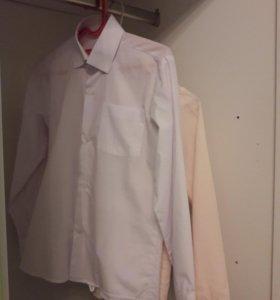 Рубашки школьные 128-134