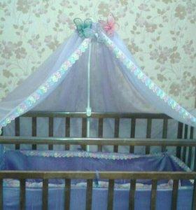 Дет.кроватка маятник
