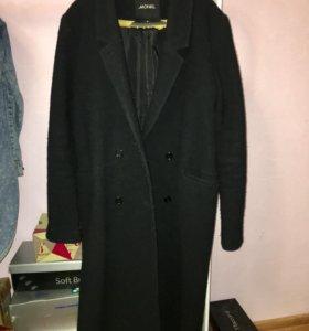 Чёрное пальто Monki