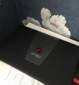 Игровой ноутбук Asus rog gl552v