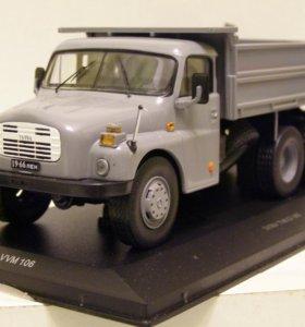 Модель Tatra T 138S 1970 1:43 VVM106