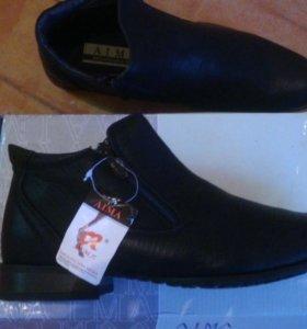 новые демисезонные ботинки AIMA