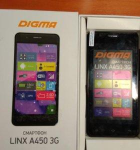 Смартфон Digma A450 3G LINX 4Gb