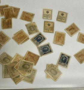 Банкноты ,деньги-марки России