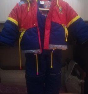 Куртка и полукомбез