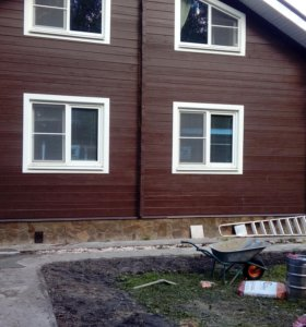строительство отделка дома бани