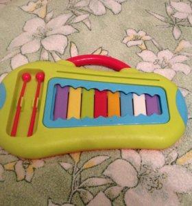 Ксилофон детский игрушка