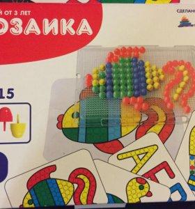 Мозаика детская пластмастер!