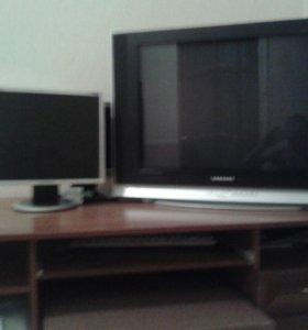 Телевизор и монитор