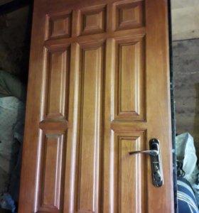 Металическая дверь с коробкой