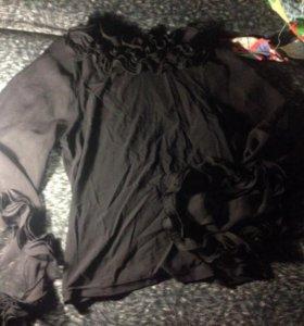Блуза, черная