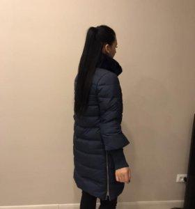 Новый пуховик пальто