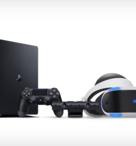 Ps4  + ps VR + камера