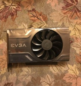 Видеокарта EVGA GeForce GTX 1060 6гб