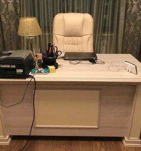 Стол письменный для дома и офиса + кресло
